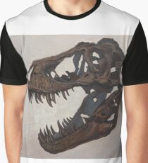 Tyrannosaurus skull Graphic T-Shirt