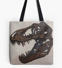 Tyrannosaurus skull Tote Bag