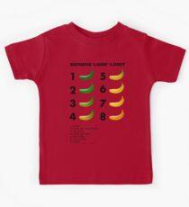 Banana color chart Kids Tee