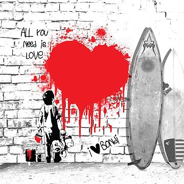The Bondi Collection - Love by LauraJIngoldsby