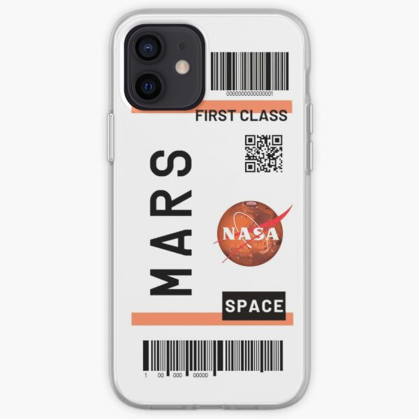 Mars space ticket  iPhone Soft Case