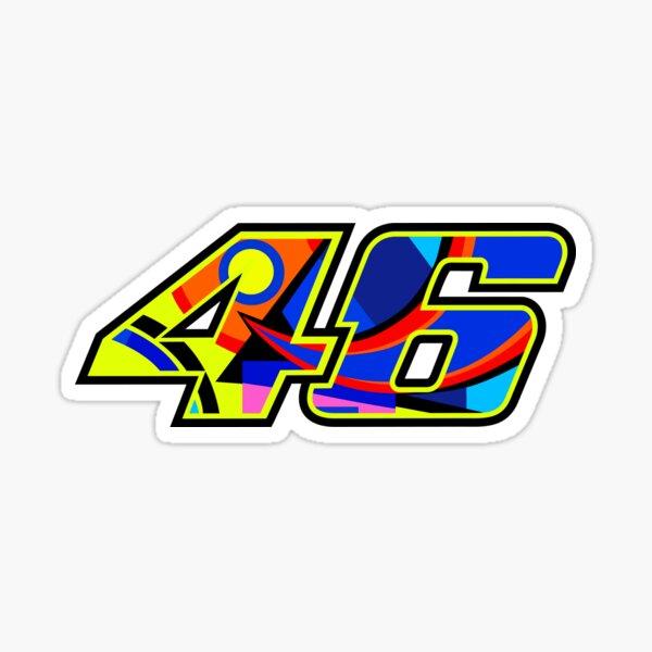 Valentino Rossi Number 46 Soleluna Sticker