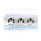 Cool Penguins by Maria Louise Moore