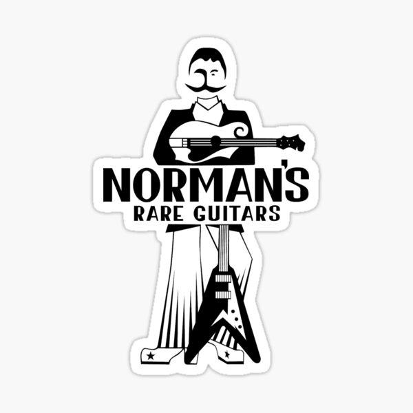 Norman's rare guitar Sticker