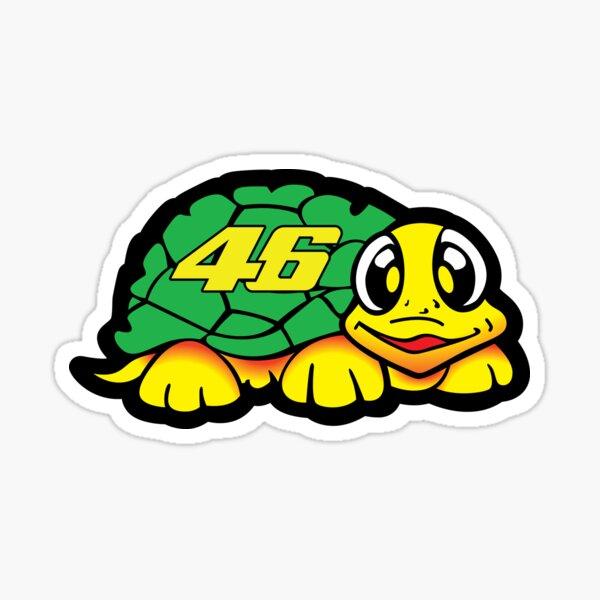 Valentino Rossi Turtle Sticker