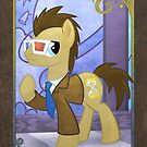 Dr Whooves at the Gala by EchoesLight