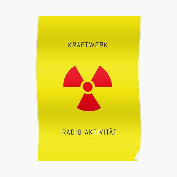 KRAFTWERK / Radioaktivität Poster
