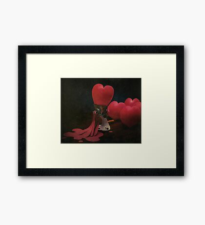 ~ when love takes an unexpected turn ~ Framed Print