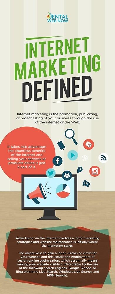 Internet Marketing Defined by Dental Web Now by Dental Web Now