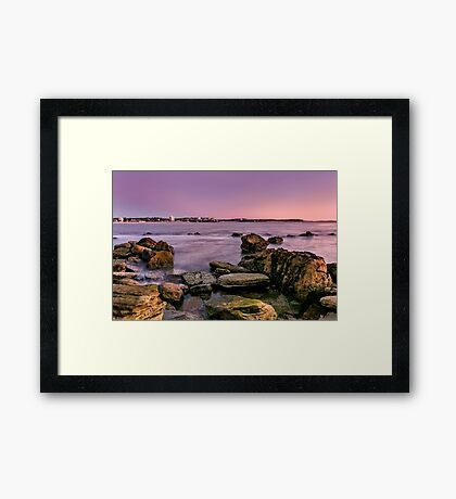 Shelly Beach, Manly Framed Print