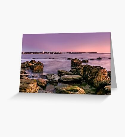 Shelly Beach, Manly Greeting Card