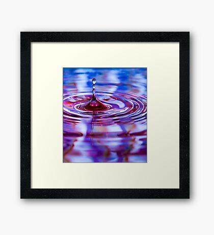 ~ one float ~ Framed Print