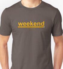 Weekend loading! loading bar Unisex T-Shirt