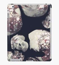 Marbled Patchwork Brush Strokes iPad Case/Skin