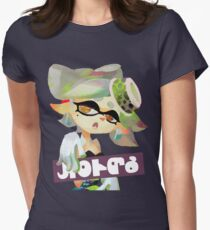 Final Splatfest - Team Marie Womens Fitted T-Shirt