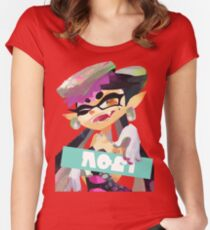 Final Splatfest - Team Callie Women's Fitted Scoop T-Shirt