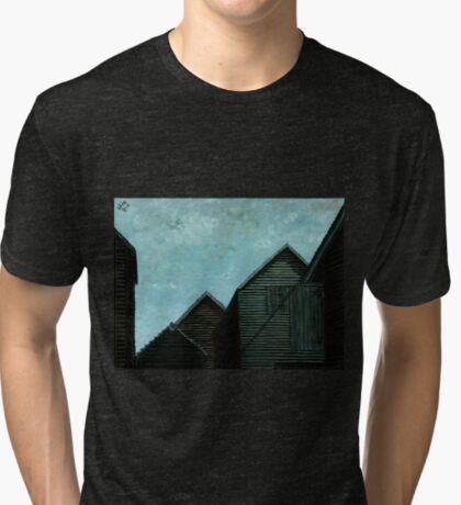 Net Huts: Roof Angles  Tri-blend T-Shirt
