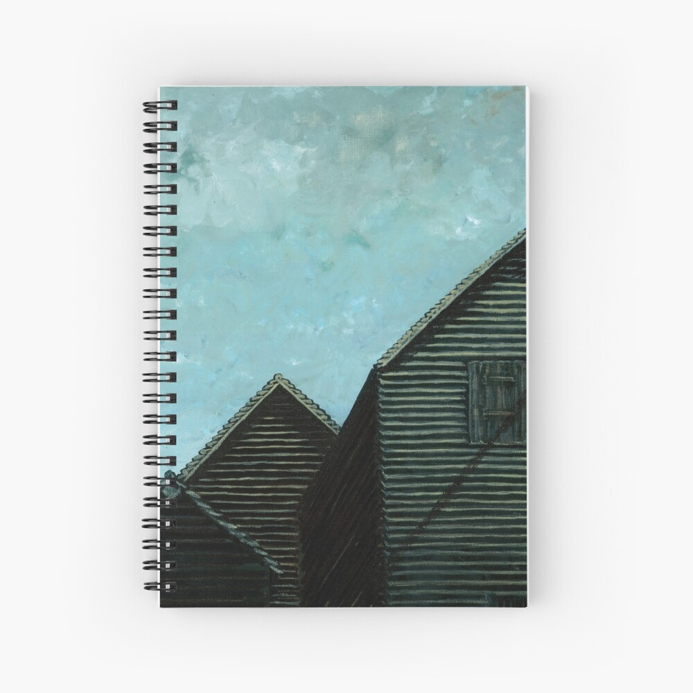 Net Huts: Roof Angles  Spiral Notebook