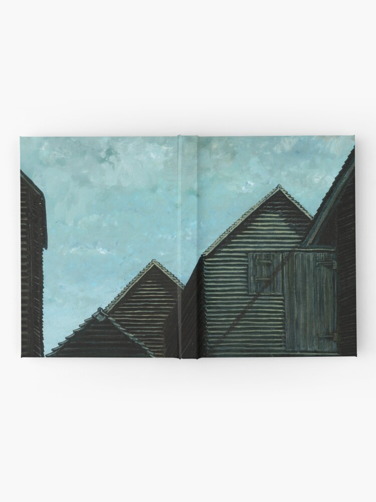 Alternate view of Net Huts: Roof Angles  Hardcover Journal