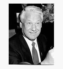 Boris Yeltsin Photographic Print