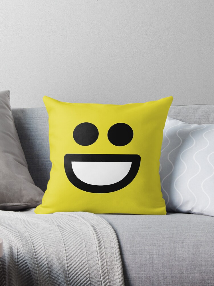 Smiley Face Showing Teeth Emoticon  by SpaceAlienTees