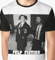 A Plastic World - Pulp Fiction Graphic T-Shirt