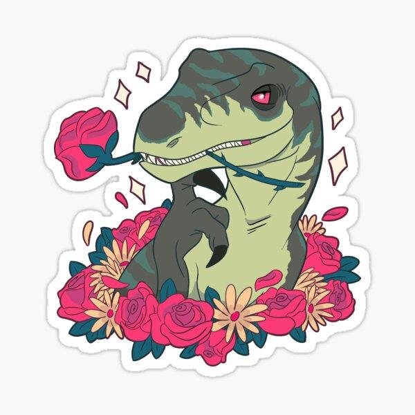 Ravishing Raptor Sticker