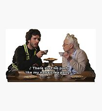 Flight of the Conchords - Tea Party Photographic Print