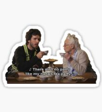 Flight of the Conchords - Tea Party Sticker