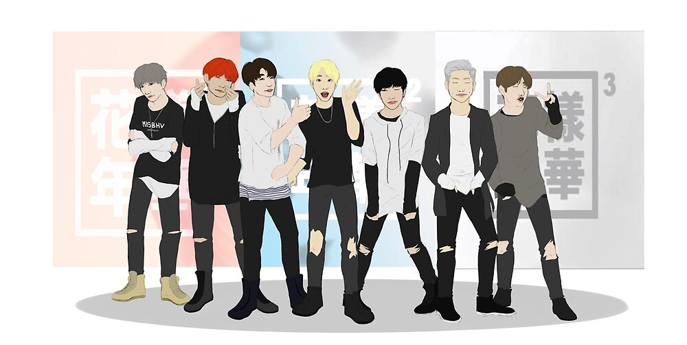 3 Years with BTS by Peppermintpapers art