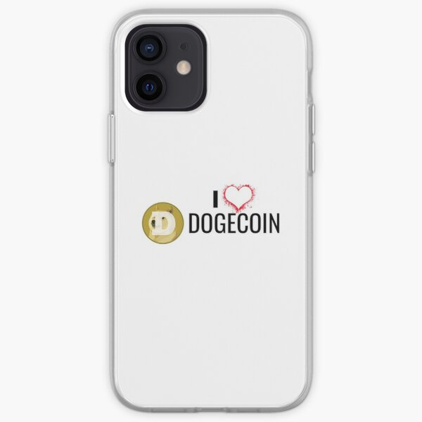 I Love Dogecoin iPhone Soft Case