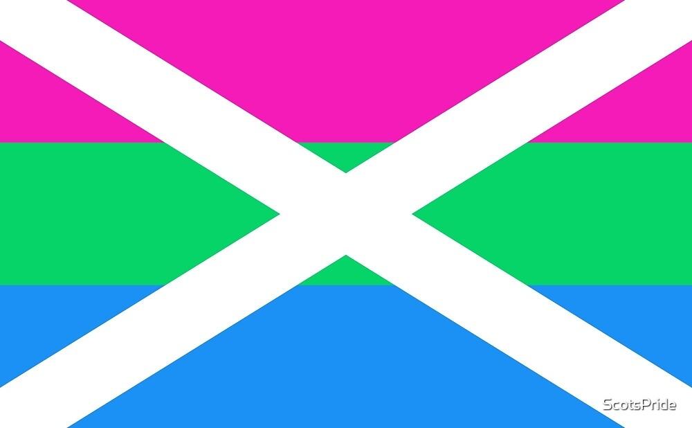 Scottish Polysexual Pride Flag by ScotsPride