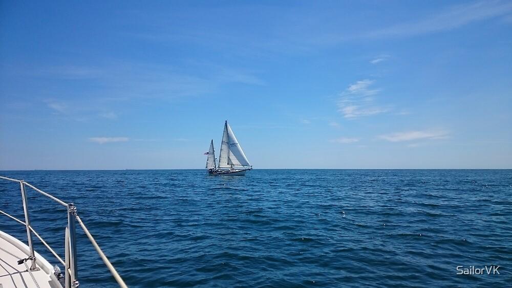 Sailing Atlantic Ocean by SailorVK