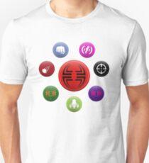 Villainous Archetypes v1 Unisex T-Shirt