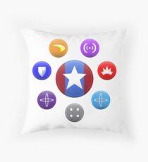 Heroic Archetypes v1 Throw Pillow