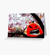 All Hallows Tree Greeting Card