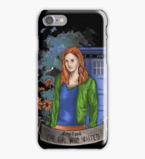 The girl WHO waited. iPhone Case/Skin