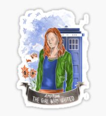 The girl WHO waited. Sticker