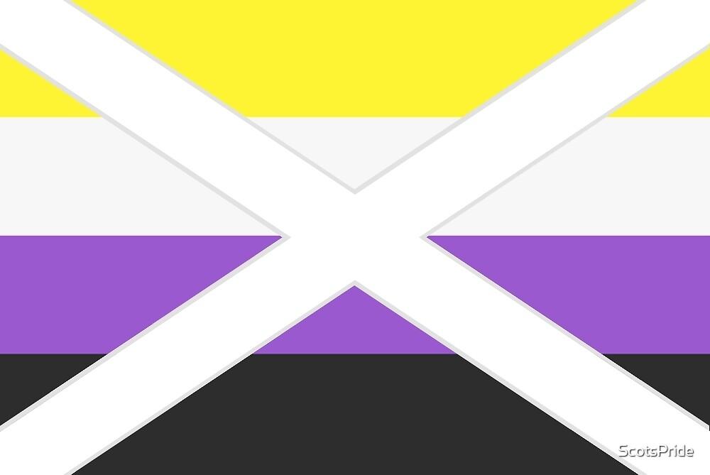 Scottish Nonbinary Pride Flag by ScotsPride