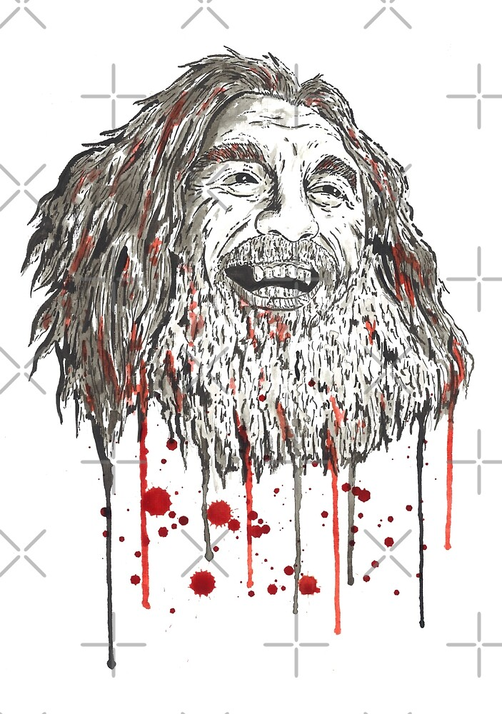 Tom Araya by Calum Margetts Illustration