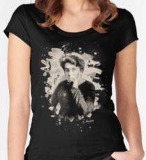 Emma Goldman Tribute Women's Fitted Scoop T-Shirt