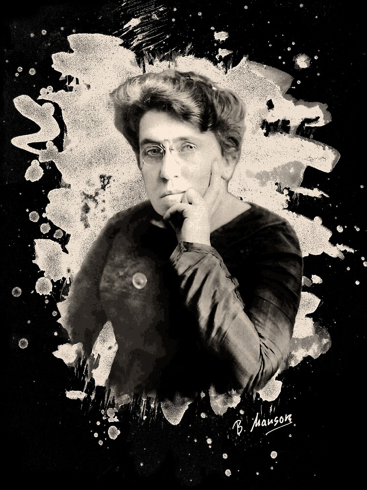 Emma Goldman tribute by Bela-Manson