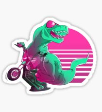 When Dinosaurs Ruled the Road Sticker