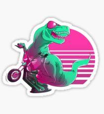Quand les dinosaures dominent la route Sticker