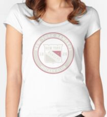New York Rangers Women's Fitted Scoop T-Shirt