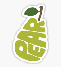 Type O' Pear Sticker