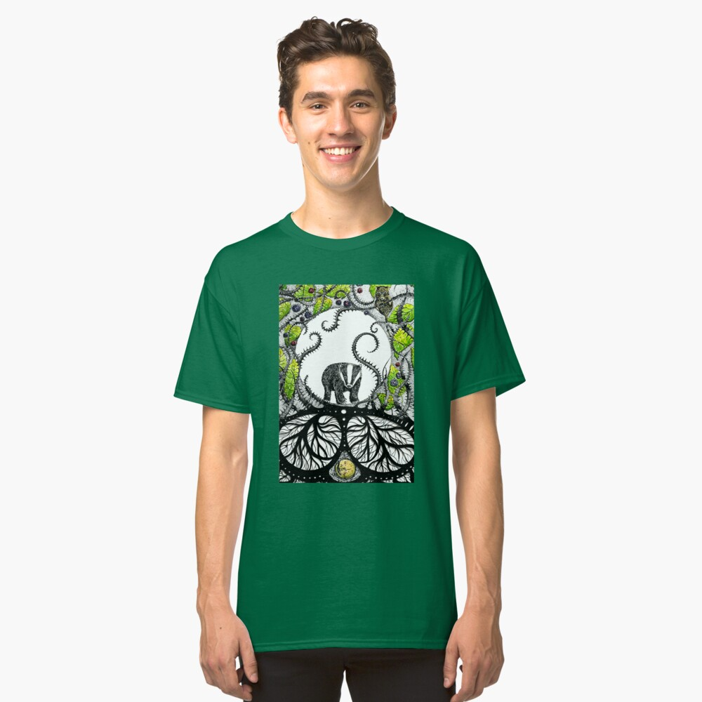 Badger and dormouse Classic T-Shirt Front