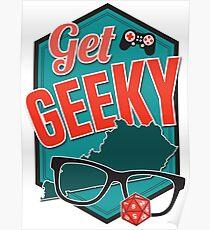 Get GeeKY Logo Poster