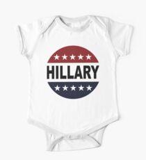 Hillary Clinton 2016 Retro Vote Button Womens Shirt Kids Clothes