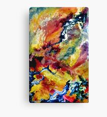 Galaxy Genesis 3 Canvas Print